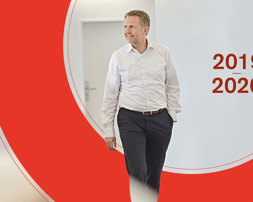 Annual Report 2019/20: Andreas Kropp, member of the EOS Group's Board of Directors