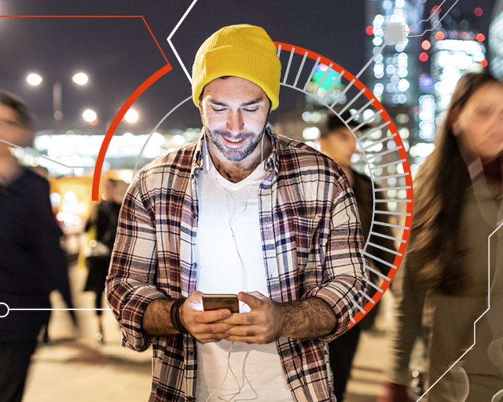 Smartphone user in city: Data has become a key economic asset.