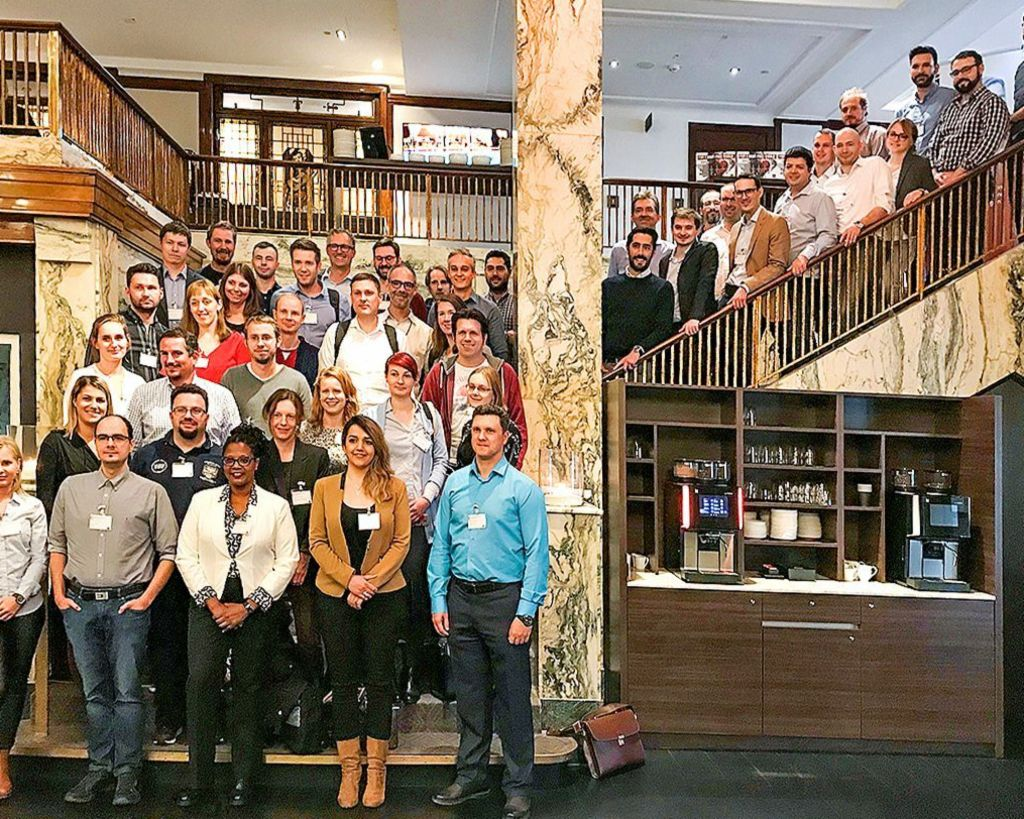 EOS CoA Academy: colleagues at the EOS Data & Analytics Conference in Hamburg.